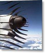 Propeller Movement Metal Print