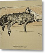 Propitation, 1930, 1st Edition Metal Print