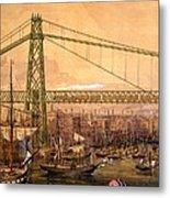 Proposed Railway Bridge Metal Print