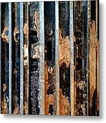 Pros And Cons Truction Metal Print