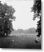 Prospect Park Brooklyn 1900 Metal Print by Steve K