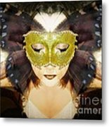 Protection Metal Print