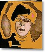 Proto Film Noir Conrad Veidt Cabinet Of Dr. Caligari 1919 Collage Screen Capture 2012 Metal Print