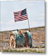 Proud To Be An American Metal Print