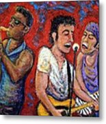 Prove It All Night Bruce Springsteen And The E Street Band Metal Print by Jason Gluskin
