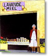 Provence Honey Shoppe Metal Print