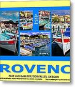 Provence Poster Metal Print