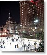 Providence On A Cold December Evening Metal Print