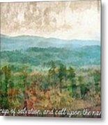 Psalm 116 13 Metal Print