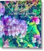 Psalm 116 5 Metal Print