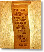 Psalm 121 Metal Print by James Hammen