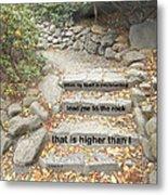 Psalm 61 2 Metal Print