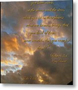 Psalm Eight Metal Print