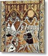 Psalter Of Saint Louis 13th C.. Abraham Metal Print