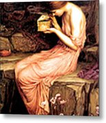 Psyche Opening The Golden Box 1903 Metal Print