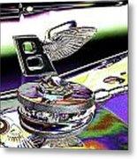 Psychedelic Bentley Mascot 2 Metal Print