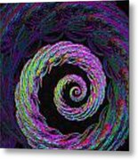 Psychedelic Conch Metal Print