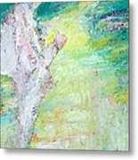 Psychedelic Hitchhiker Metal Print