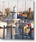 Pt. Clinton Yacht Club Metal Print