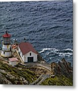 Pt Reyes Lighthouse Metal Print