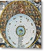 Ptolemaic Universe, 1493 Metal Print