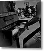 Public Music Metal Print by Frederico Borges