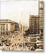 Public Square Cleveland Ohio 1912 Metal Print