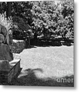 Pudding Stone Wall - Stickley Metal Print