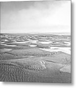 Puddles Of Ocean Left Behind Metal Print