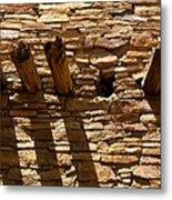Pueblo Bonito Wall Metal Print