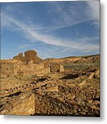 Pueblo Bonito Walls And Rooms Metal Print by Feva  Fotos