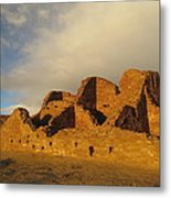 Pueblo Del Arroyo At Sunset II Metal Print