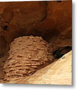 Pueblo Indian Ruins Metal Print