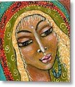 Pueblo Priestess Metal Print