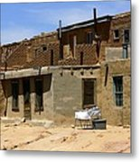 Pueblo Yard Sale Metal Print