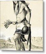 Pueblo Zuni Buffalo Dance, 1850s Metal Print
