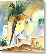 Puerto Carmen Sunset In Lanzarote 03 Metal Print