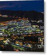 Puerto Rico By Night  Metal Print