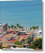 Puerto Vallarta Metal Print