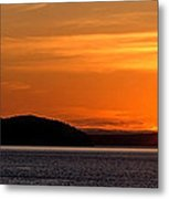 Puget Sound Sunset - Washington Metal Print by Brian Harig