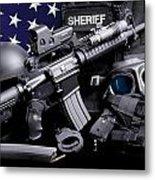 Pulaski Sheriff Tactical Metal Print