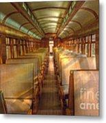 Pullman Porter Train Car Metal Print