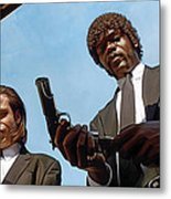 Pulp Fiction Artwork 1 Metal Print