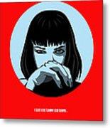 Pulp Fiction Poster 3 Metal Print