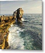 Pulpit Rock In Dorset Metal Print