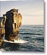 Pulpit Rock Jurassic Coast Metal Print