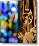 Pulpit Trinity Cathedral Pittsburgh Metal Print