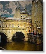 Pulteney Bridge Metal Print
