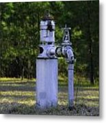 Pump From The Past Metal Print