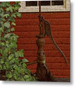 Pump Metal Print by Jack Zulli